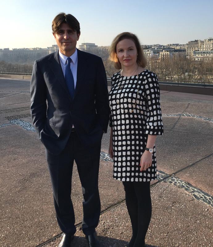 Филипп д' Орнано и Мария Тараненко