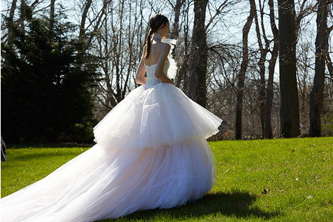 Лучшие коллекции Недели свадебной моды | галерея [4] фото [10]