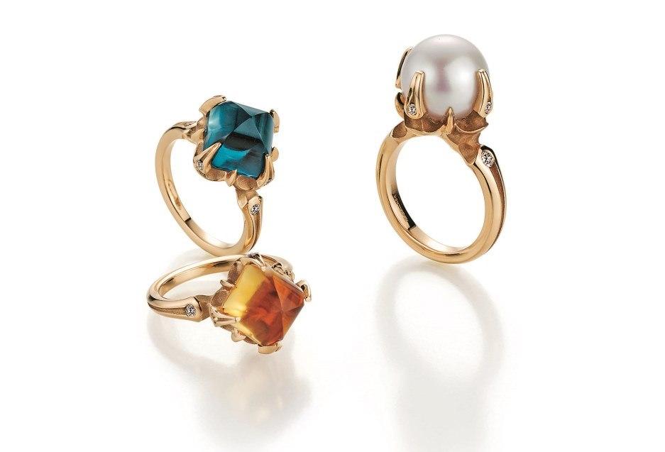 Кольца с бриллиантами Gellner