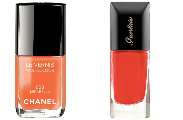 Выбор ELLE: Chanel Le Vernis Mirabella, Guerlain La Laque Nahema