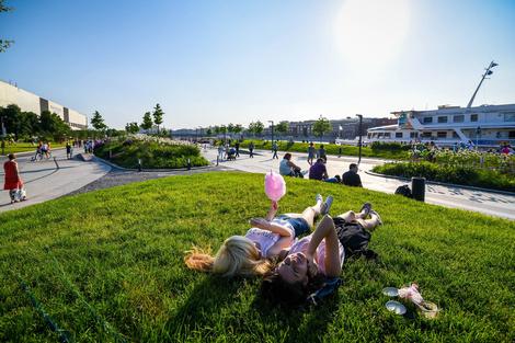 Парк Горького открывает летний сезон   галерея [1] фото [7]