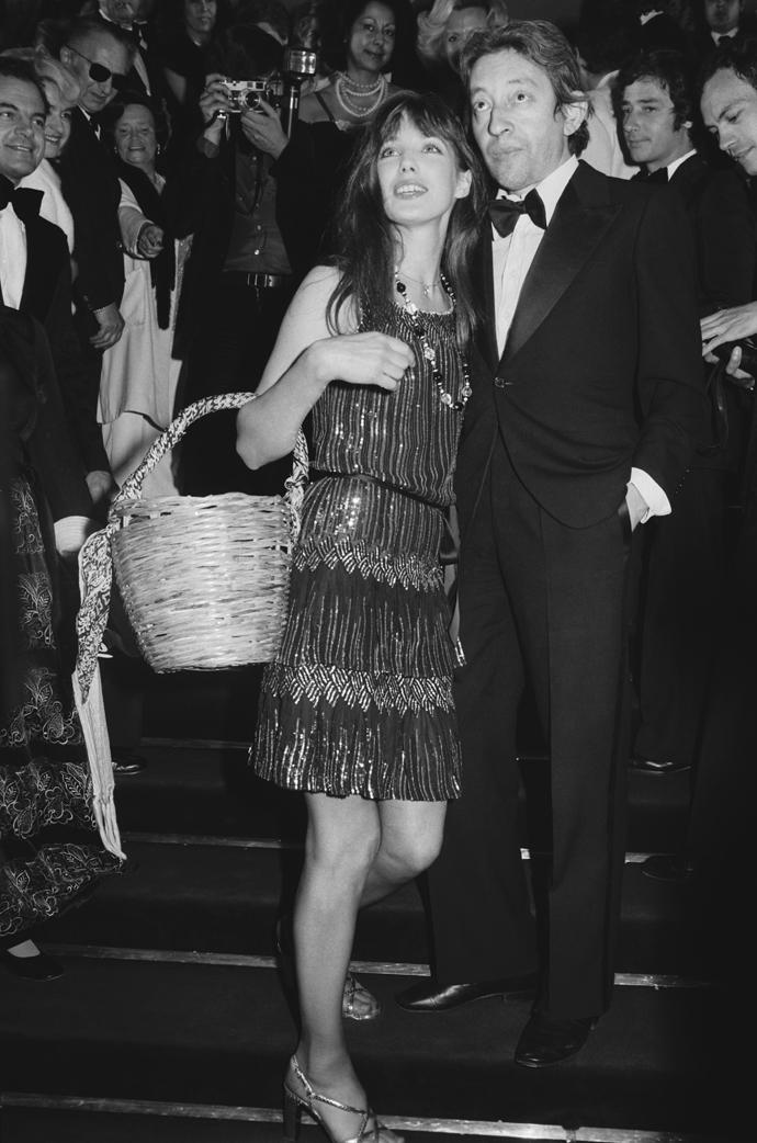 Джейн Биркин и Серж Гензбур, 1977