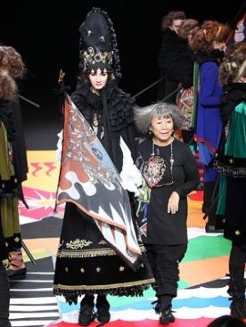 Показ Tokuko 1er Vol на неделе Моды в Японии