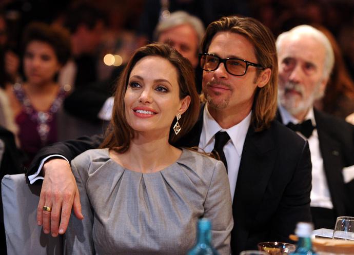Пітт та Джолі помирилися
