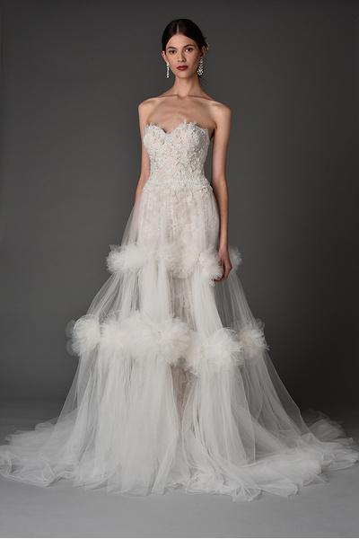 Лучшие коллекции Недели свадебной моды | галерея [1] фото [11]