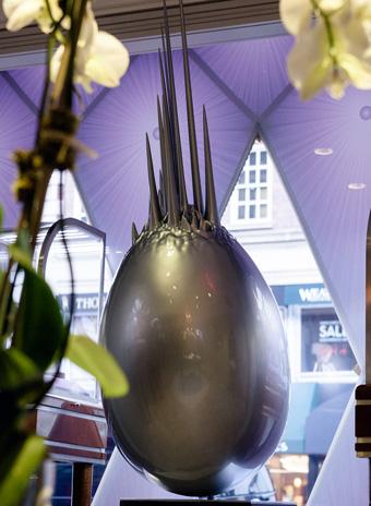 Заха Хадид, Fabergé, Big Egg Hunt, дизайн, Нью-Йорк