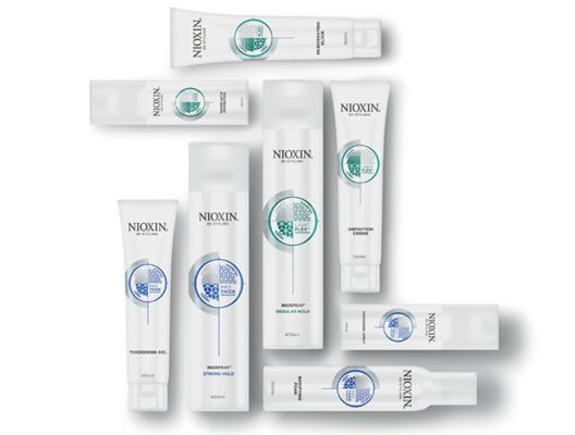 Линия NIOXIN 3D для визуального увеличения их густоты и объема