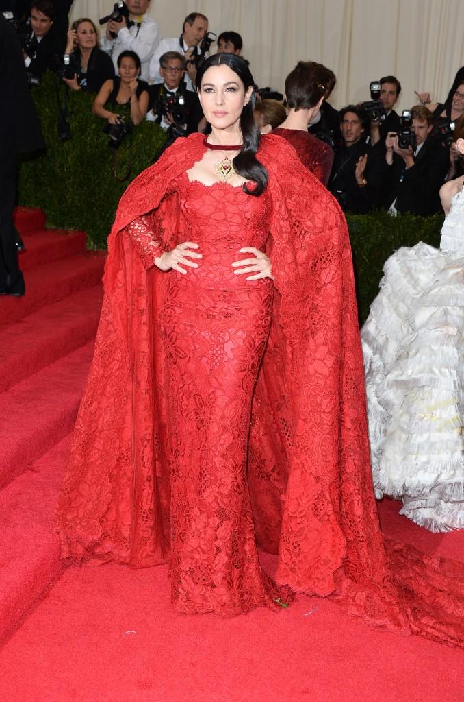 Моника Беллуччи в Dolce&Gabbana