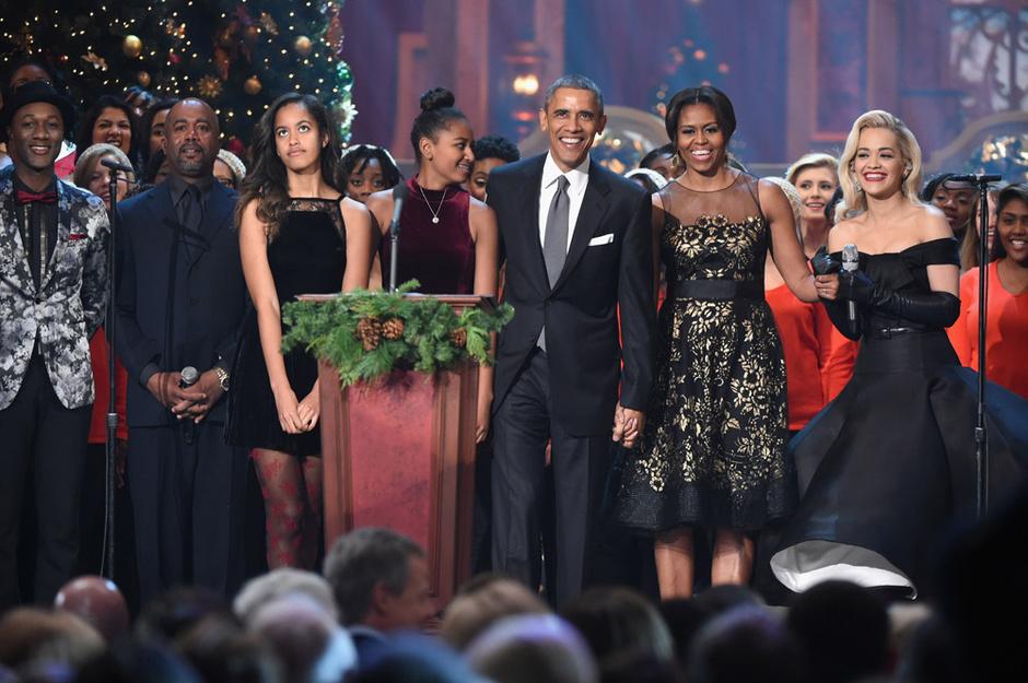 Семья Барака Обамы: фото