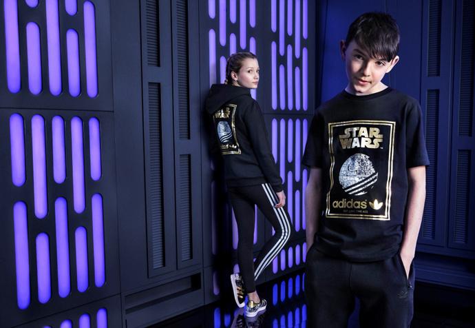 новая детская коллекция из линейки Star Wars