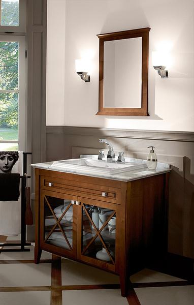 Ванная в стиле ретро: коллекции Amadea и Hommage от Villeroy & Boch | галерея [1] фото [2]