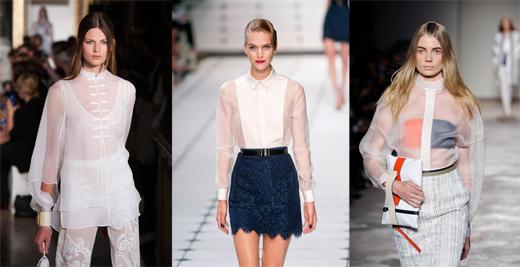 Модные женские рубашки 2013: Emilio Pucci, Jason Wu, Gabriele Colangelo