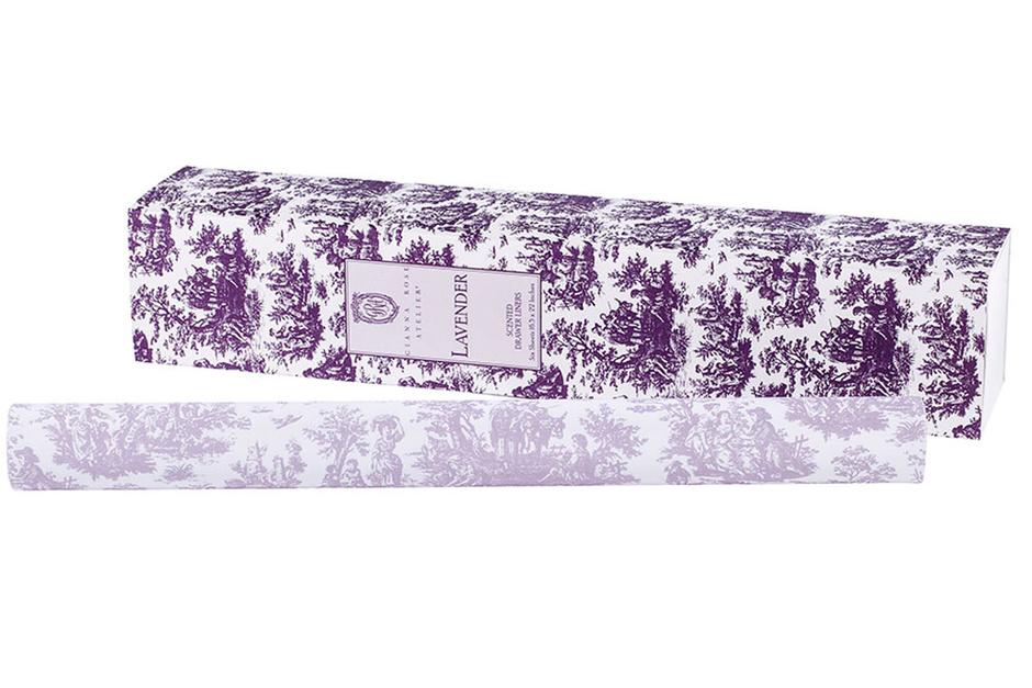 Ароматизированная бумага Lavender для шкафа, Gianna Rose Atelier, магазины Cosmotheca, Leform.