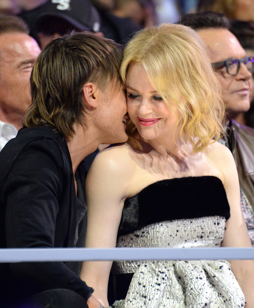 Николь Кидман с мужем: фото 2015