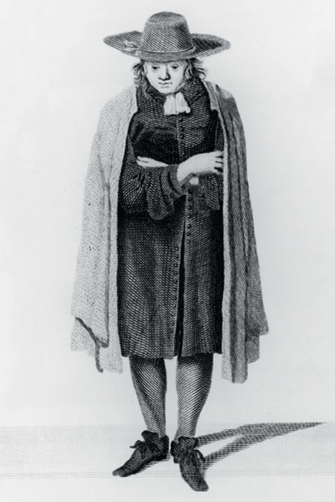 Портрет квакера, 1675 год