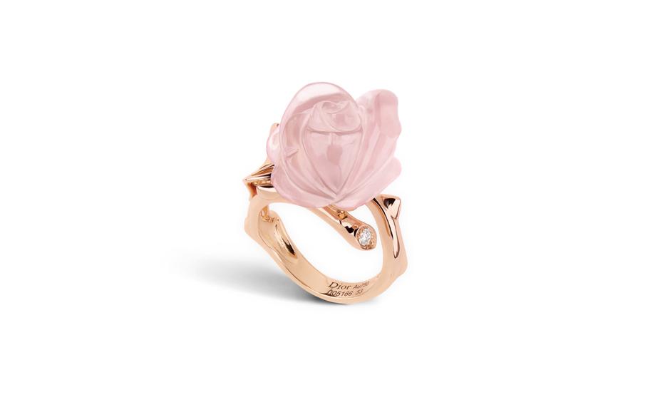 Телец: розовый кварц