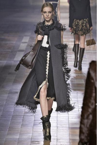 Показ Lanvin на неделе моды в Париже | галерея [1] фото [26]