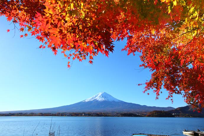 Озеро Кавагути, Япония