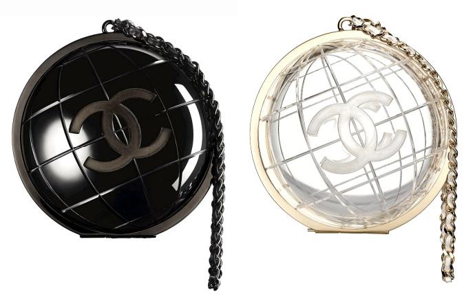клатч-глобус от Chanel