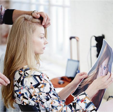 Star Trends: Светлана Ходченкова в модных бьюти-образах нового сезона | галерея [4] фото [3]