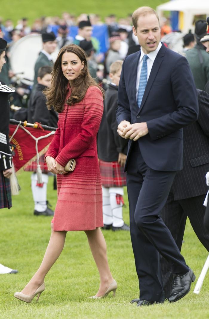Кейт Миддлтон и принц Уильям: фото 2014