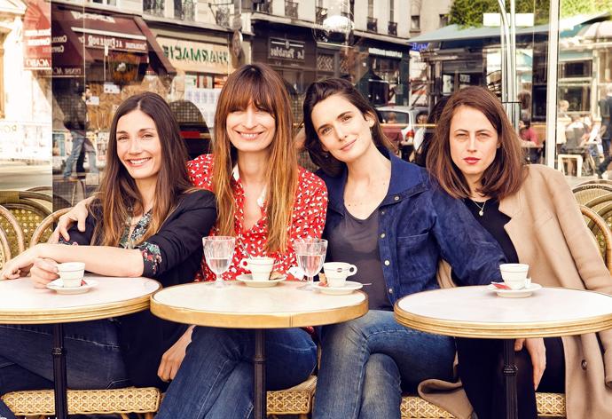Авторы книги, слева направо: Одри Диван, Каролин де Мегрэ, Софи Мас, Анна Берес