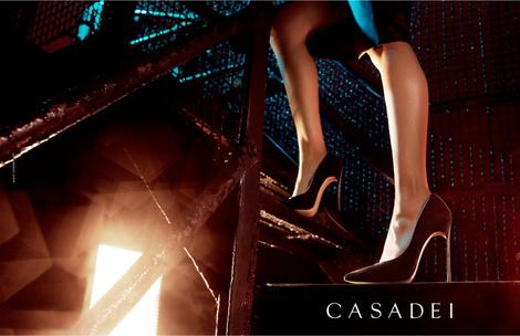 Бренд Casadei представил первые кадры новой рекламной кампании