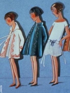 Lanvin запускает линию детской одежды.