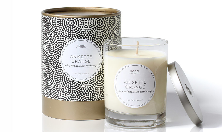 Свеча Anisette Orange KOBO Candles