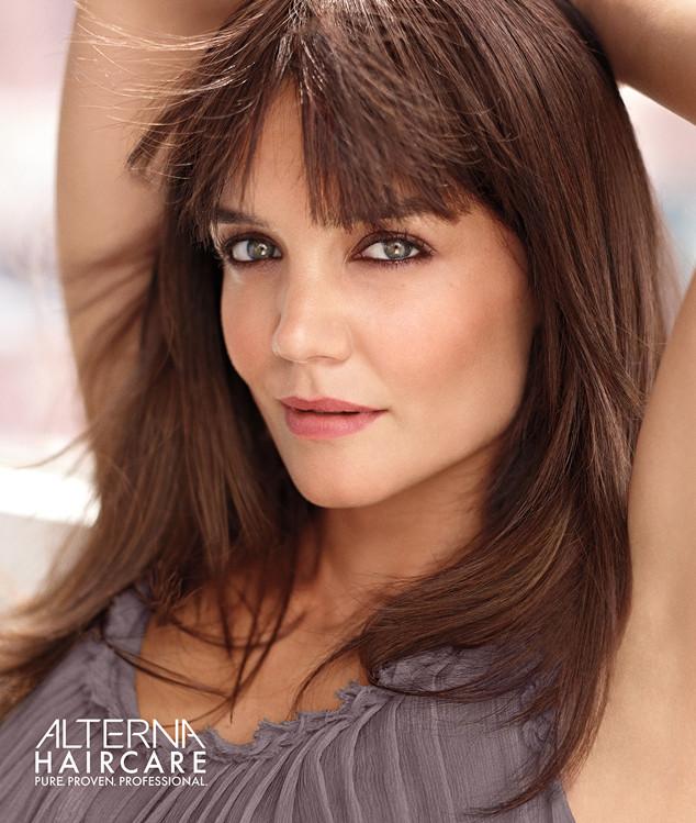 Кэти Холмс рекламирует Alterna Haircare