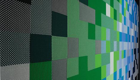 Панели, обтянутые акустической тканью из коллекции TP30, Rosso, www.rosso-acoustic.com