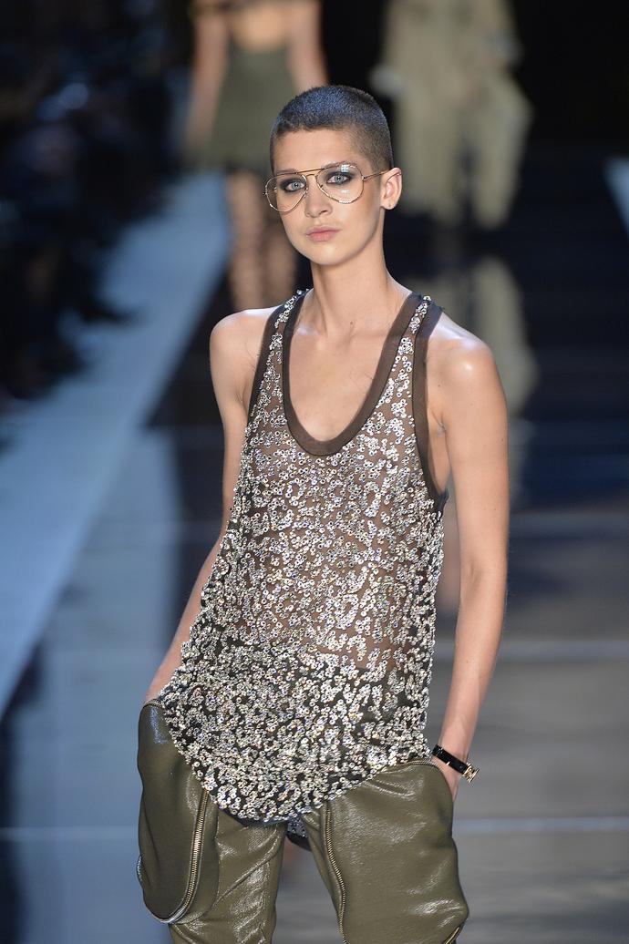 Let's rock: показ Alexandre Vauthier Couture на Неделе высокой моды в Париже
