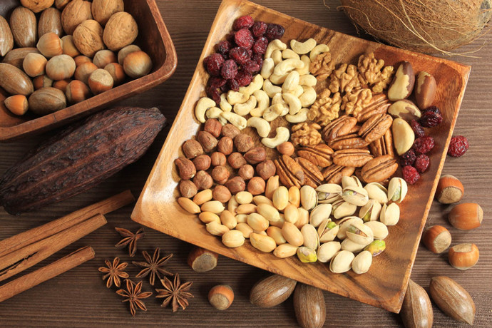 Орехи и ореховые спреды/масла