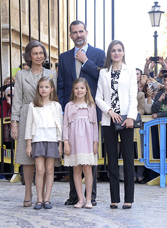 Королевская семья Испании
