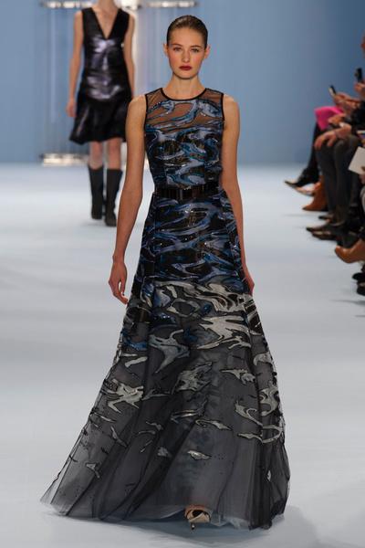 Black tie: показы Carolina Herrera, Reem Acra и Zac Posen на Неделе моды в Нью-Йорке | галерея [2] фото [14]