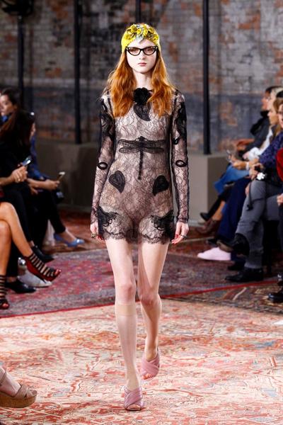 Дом Gucci представил новую круизную коллекцию 2016 | галерея [2] фото [34]