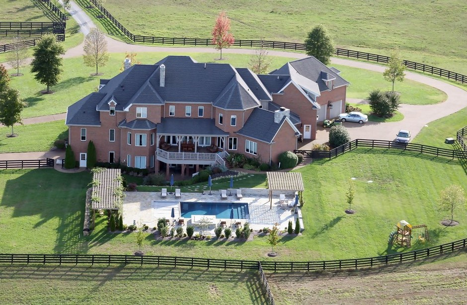 Шерил Кроу и ее дом