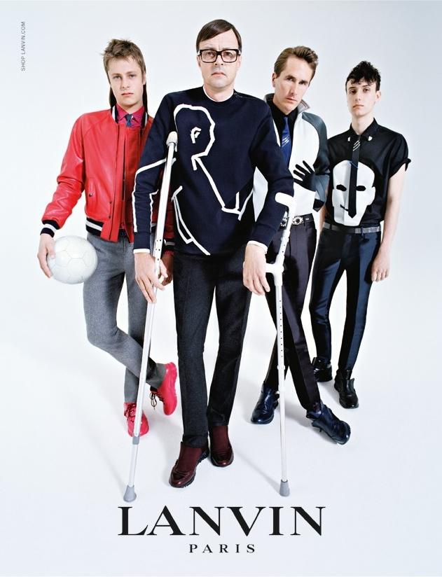 Рекламная кампания Lanvin осень-зима 2014-15