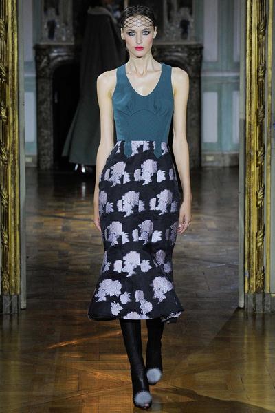 Показ Ulyana Sergeenko на Неделе высокой моды | галерея [1] фото [8]