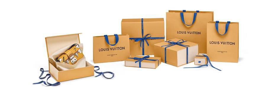 Louis Vuitton представил новый дизайн упаковки
