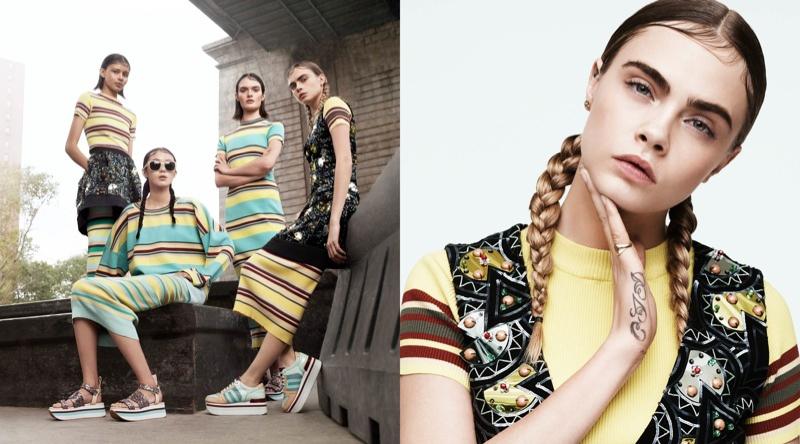 Рекламная кампания DKNY весна-лето 2015