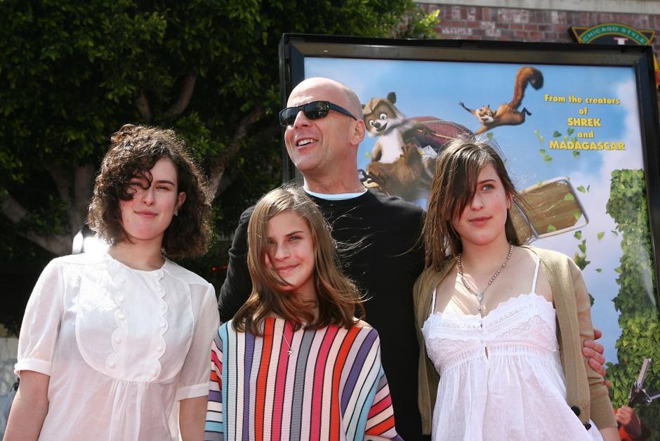 Брюс Уиллис и его дети