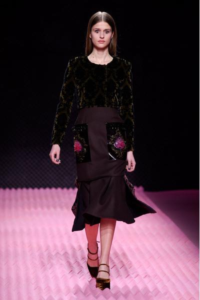 Показ Mary Katrantzou на Неделе моды в Лондоне | галерея [1] фото [16]