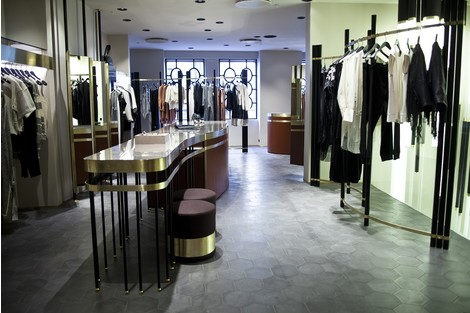 Дизайнеры Dimore Studio оформили бутик By Malene Birger   галерея [1] фото [4]