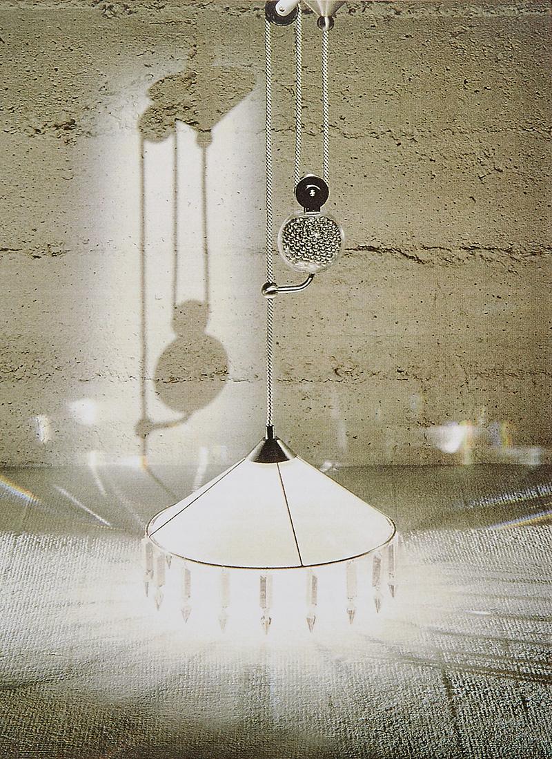 Светильник Pampilles, дизайн Андре Путман, 1994 год.