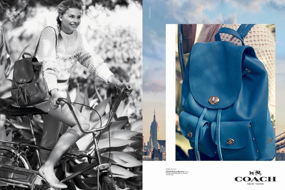 Рекламная кампания Coach весна-лето 2015