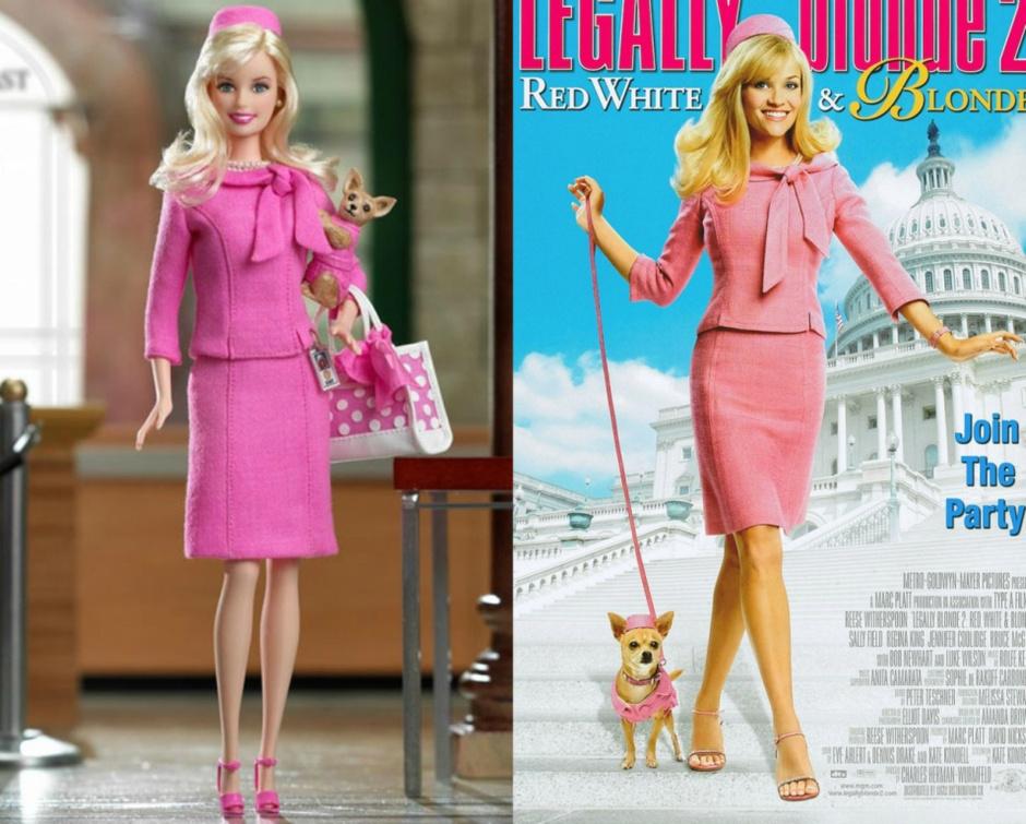 Барби - Риз Уизерспун куклы-знаменитости