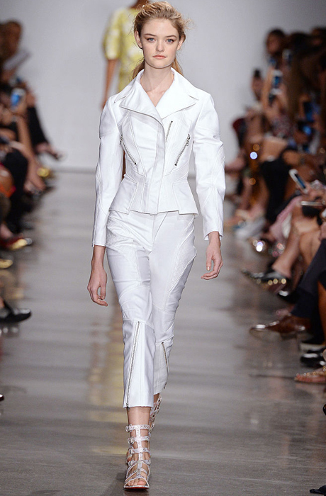 Показ Zac Posen а Неделе моды в Нью-Йорке