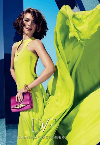 Рекламная кампания Diane von Furstenberg