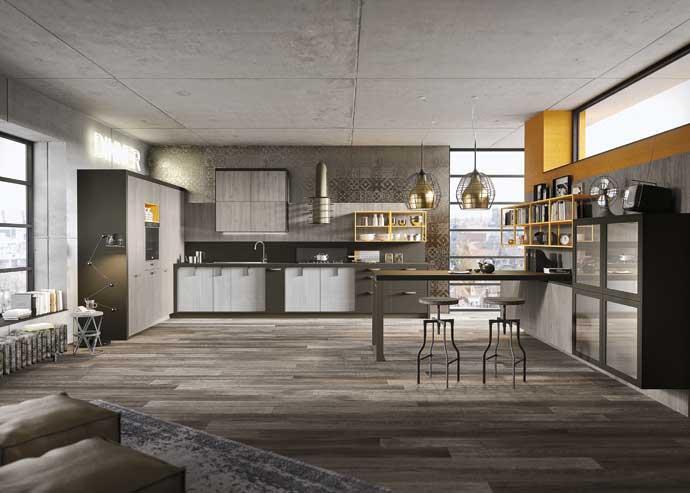 Кухня Loft, Snaidero, дизайн Микеле Маркона